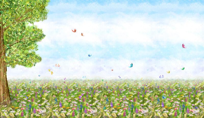 Tapeta Kwiaty