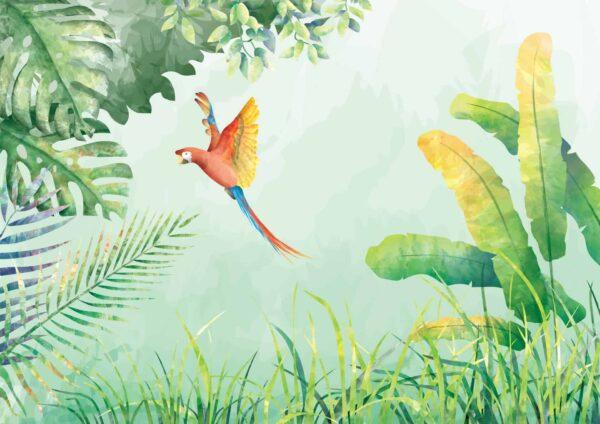 Tapeta dla dzieci Dżungla