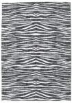 dywan zebra - pokój dżungla