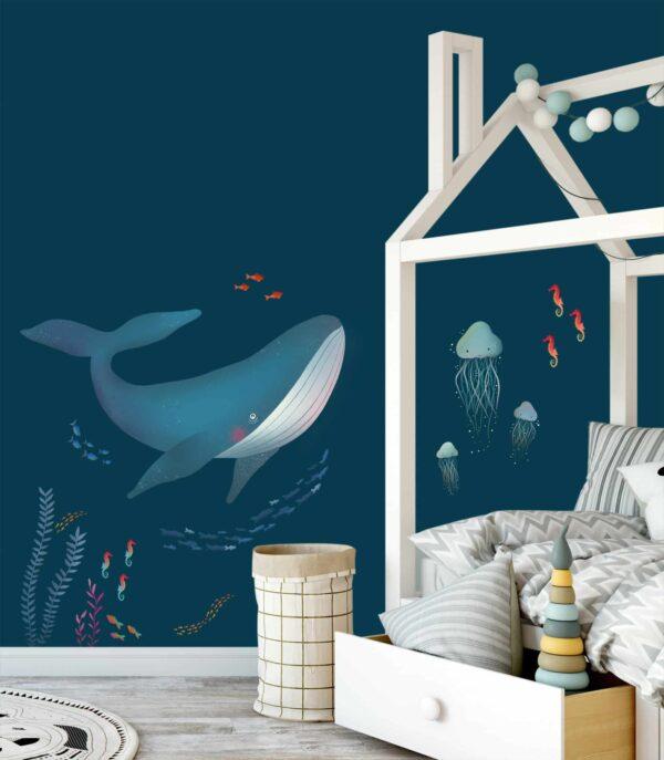 naklejka podwodny świat -wizualizacja